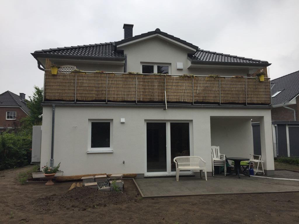 Bungalow weisse aster